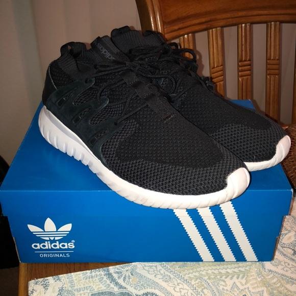Adidas Tubular Nova Primeknit 10.5 blackwhite
